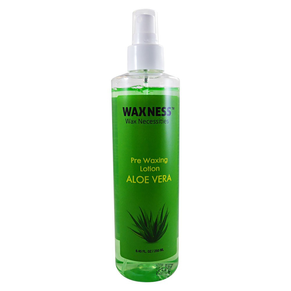 Pre Waxing Lotion with Natural Aloe Vera Extract 8.45 oz / 250 ml