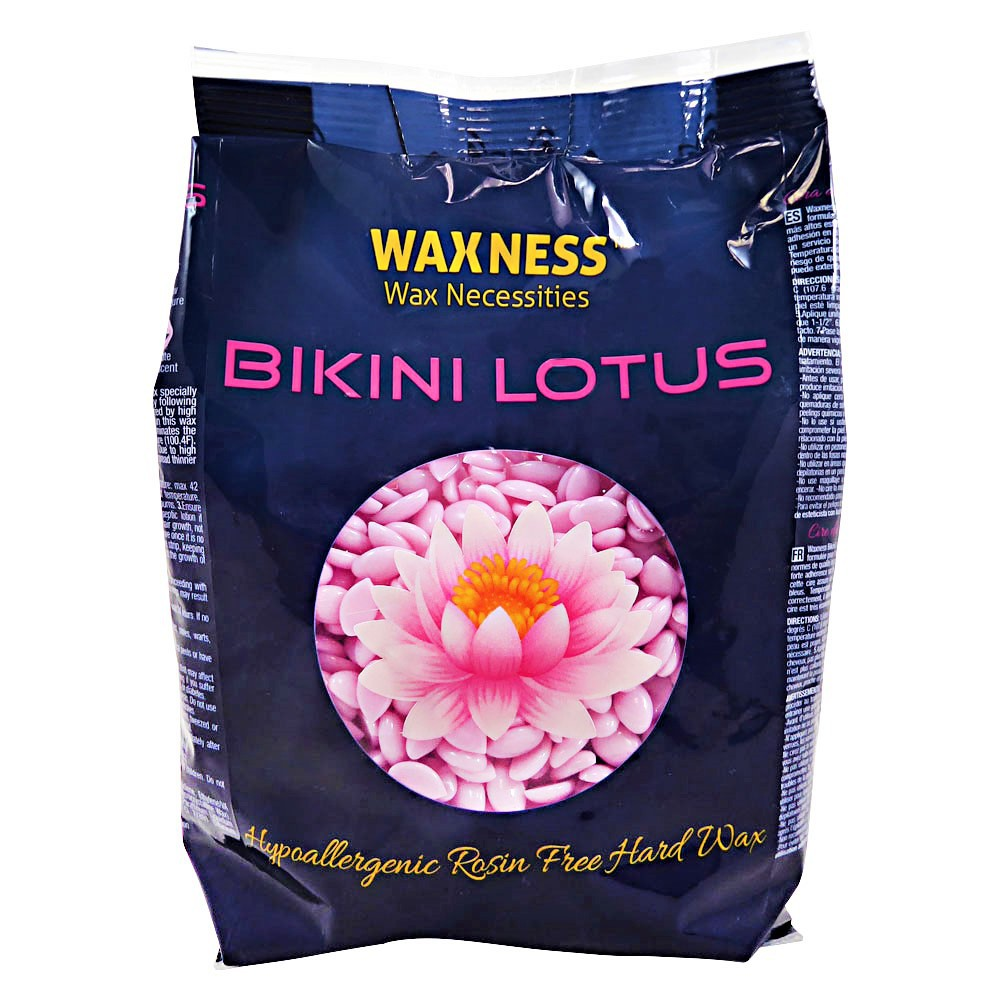 Premium Luxury Bikini Lotus Hard Wax Beads 0.8 Lb / 400G