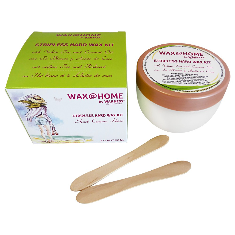 Wax at Home White Tea Stripless Wax Kit 8.45 oz