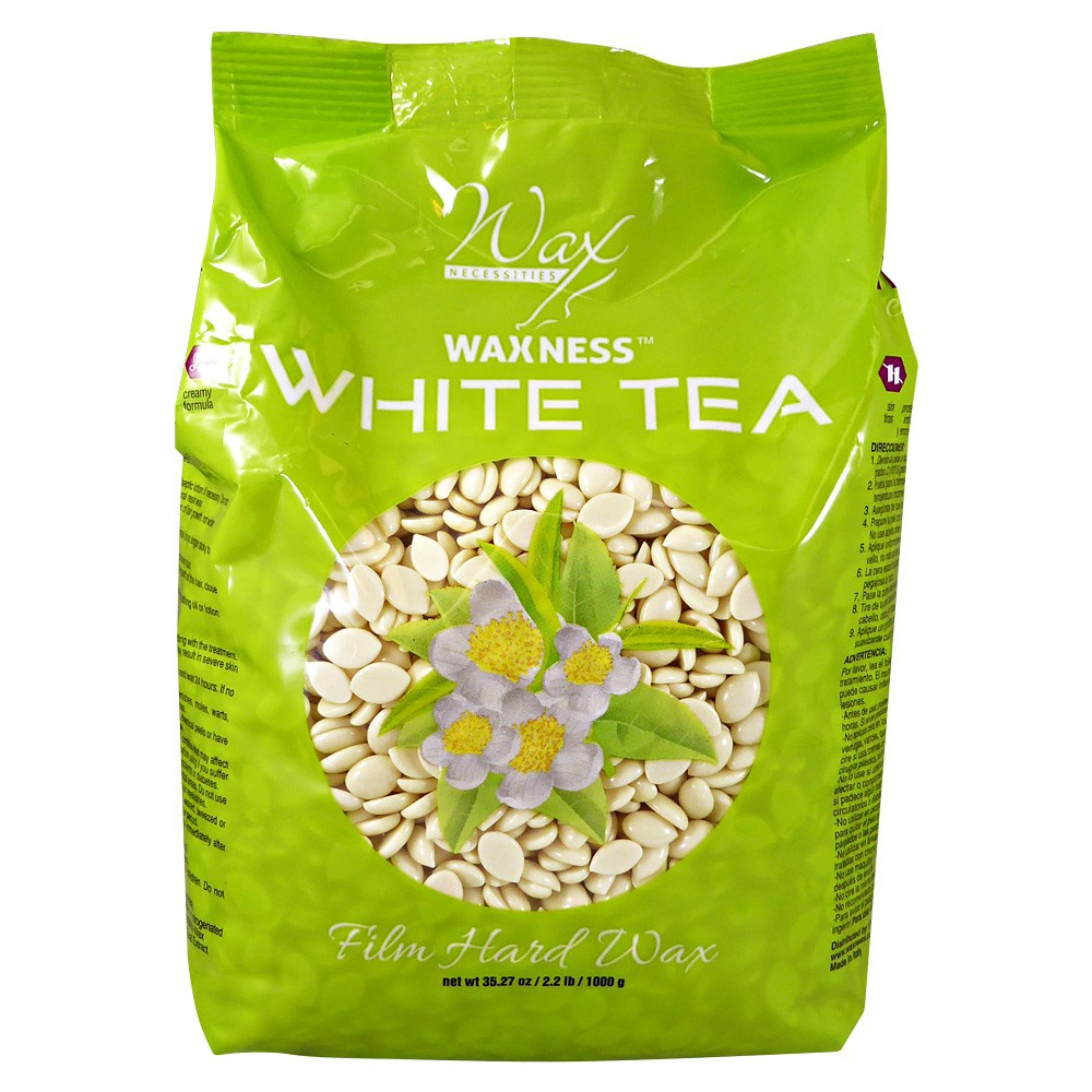 White Tea Cream Film Hard Wax Beads 2.2 LB / 35.27 OZ