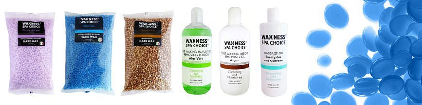 Waxness Spa Choice is a line specially formulated for salon / spas.