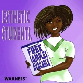 Are you a student and want to try different types of waxes? We have free samples for you!  You can request them here: waxness.com/contact-us  #waxness #waxness_ #waxnecessities #waxnessfreesamples #freewax #waxnesshardwax