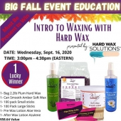 Want to start using Waxness hard wax or just to perfect your knowledge and technique? Don't miss out education event. FREE hard wax samples for all the participants!  https://zoom.us/webinar/register/WN_SgCMz1E4REu6yClS34jTfw  #waxness #waxness_ #waxnecessities #waxeducation #waxsamples #waxnesshardwax #hardwax